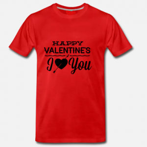 Men's T-Shirt Happy Valentine's